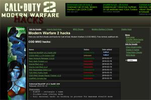 COD MW2 hacks