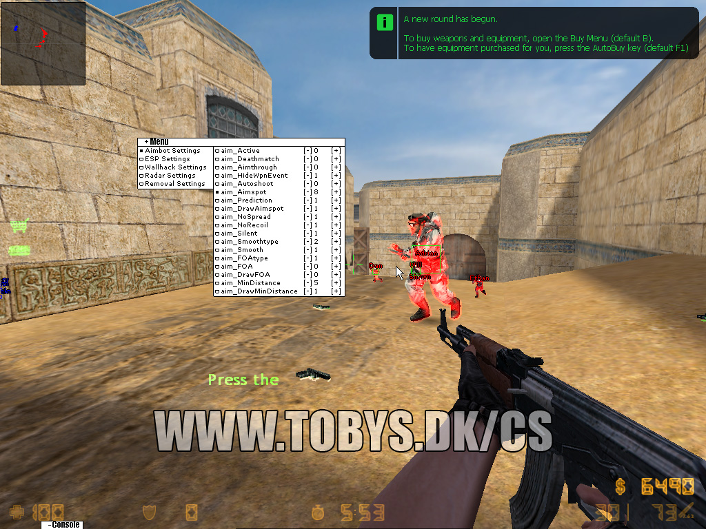 Counter strike condition zero wall hack virus free download youtube.