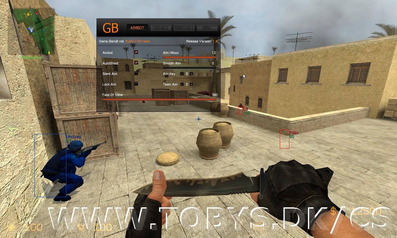 بإذن الله cheat لعبة Counter-Strike