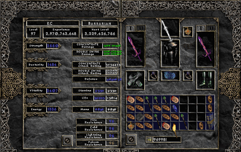 Diablo  Lord Of Destruction Barbarian Builds